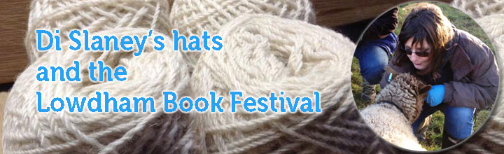 Di Slaney's hats & the Lowdham Book Festival